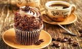 Cupcake with Coffee