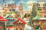Christmas Market by Jacquie Lawson...