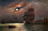 Llegando a puerto