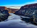 Snake River and the Perrine Bridge