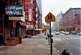 NEW YORK 1970'S COLUMBUS AVENUE