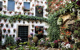 Patio in Granada, Spain