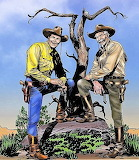 Tex Willer e Kit Carson