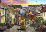 ^ Sunset Harbor ~ David Maclean