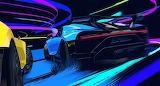 Bugatti in art