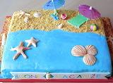 Beach bum's cake @ dolcepassatempo