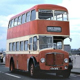 Crossley Regent V D3RV 1957 Darwen Corporation