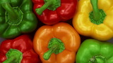 ^ Red, green, yellow, orange peppers
