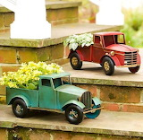 Miniatures-old-trucks-red-garden-two-things-