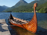 Viking boat no sail