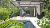 Home pool view