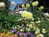 Mackinac Island West Bluff Garden by Nancy Savageau