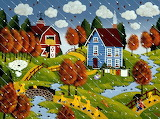 ^ Fall Showers ~ Merry Kohn Buvia