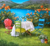 Table for Four at Lake