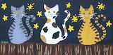 ^ Samantha Bell ~ Three Cats