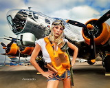 B-17-pilot-pin-up-robert-alvarado