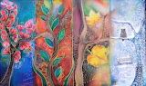 four seasons, art batik