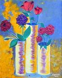 ROSES IN VASE - Robert Anthony Montesino