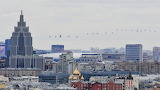 Victory air parade in Moscow