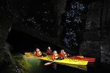Glowworm Cavern in New Zealand
