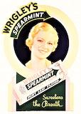 Wrigley's Spearmint Gum Die Cut