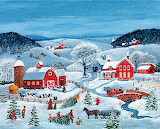 Christmas Tree Farm~ MarySingleton