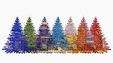 ^ Christmas Rainbow - Pixabay