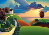 Clouds over the sea, Paul Corfield