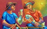 Fish Market by Adelio Sarro