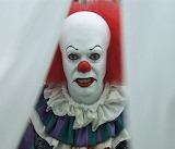 Tim Curry As Pennywise IT-Face Your Fears