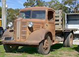 Austin truck rusting away.