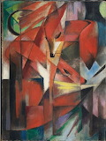 Tumblr amare-habeo Franz Marc The Foxes