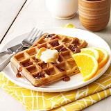 ^ Buttermilk Pumpkin Waffles