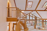 Staircase and Skylights