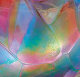 opalescent art glass ornament