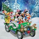 Christmas, Disney, Mickey & Minnie Mouse & Friends