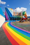 Rainbow Building and Play Area