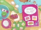 Puzzel-Prinses Cupcake-aanrecht