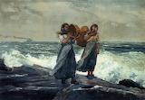 A Fresh Breeze 1881 Winslow Homer