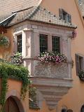 Ornate Window, France