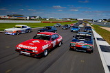 Silverstone Classic out on track
