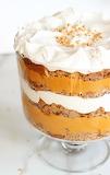 ^ Pumpkin Butterscotch Spice Cake Trifle