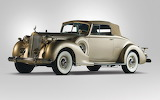 Luxury 1938 Packard 12 Convertible Coupe CC0