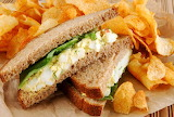 ^ Egg Salad Sandwich