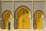 Fez-Royal-Palace,-Morocco