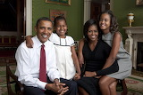 POTW, Obama family portrait in the Green Room