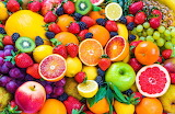 ☺♥ Fresh fruits...