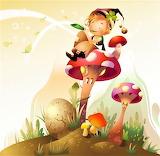 #Fairy Tale Wallpaper