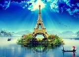 Tour Eiffel-fantaisie