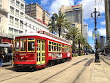 USA Louisiana New-Orleans Streetcar